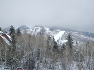 Snowfall at Steamboat