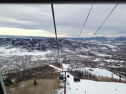 View from the Gondola over Heavely Days